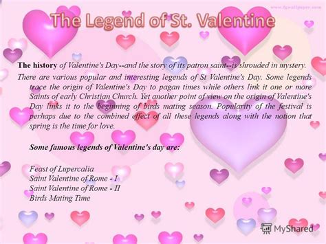 Origin Of S Day Quot 9 171 187 History Of St Valentines Day