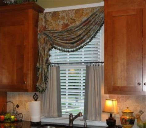 Modern Kitchen Valance Curtains Modern Kitchen Curtains And Valances Stonerockery