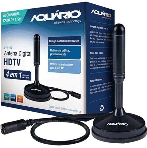 Kick On Antena Tv Remote K 850 antena tv digital hdtv dtv 150 aquario cabo 5 metros aquario