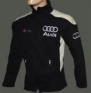 Audi Jacket Audi S Line Fleece Jacket Embroidered Logos S2 S3