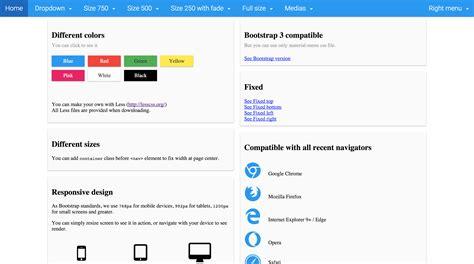 design dropdown menu bootstrap material design responsive dropdown mega menu compatible