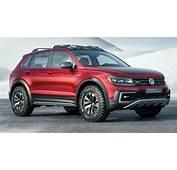 VW Tiguan GTE Active Concept Gives PHEV A Tougher Look
