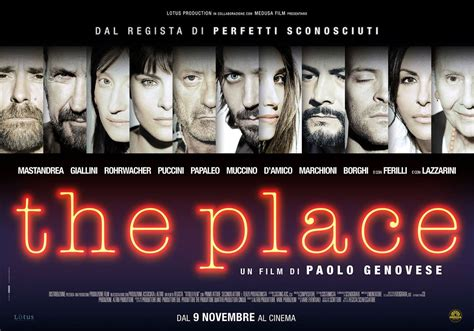A Place Poster The Place Il Poster Nuovo Di Paolo Genovese