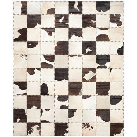 safavieh cowhide rugs safavieh cow hide white black 9 ft x 12 ft area rug