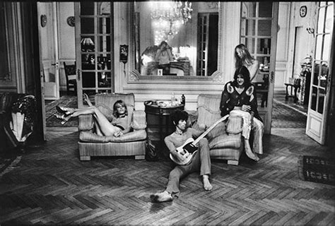 swinging wives 1971 the rolling stones at villa nellc 244 te music the guardian