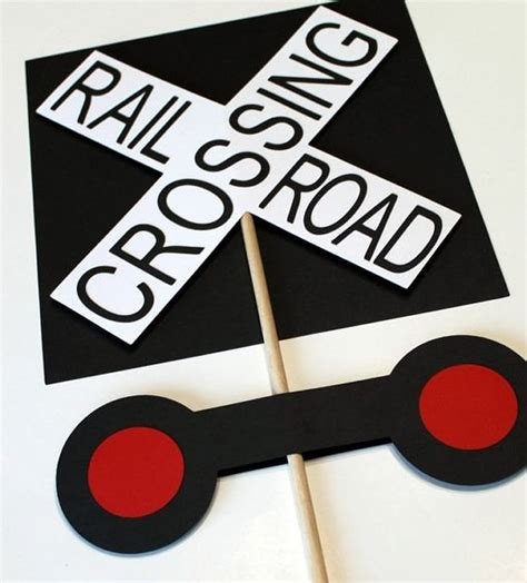 printable railroad signs pinterest the world s catalog of ideas