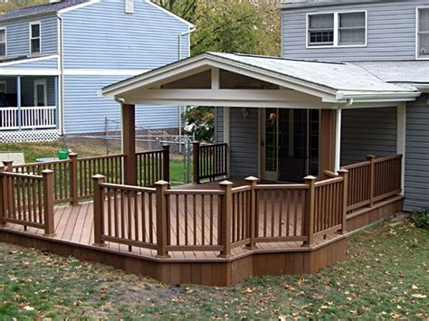 glasveranda bauen covered back porch designs covered deck ideas decks