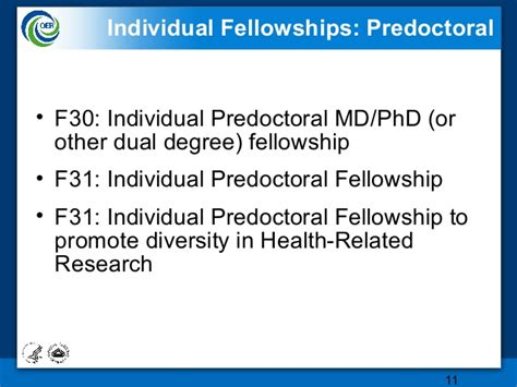 certification letter for predoctoral fellowships f31 to promote diversity research awards the oer powerpoint ppt