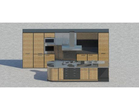 kitchen isle kitchen with isle for revit architecture 2011 modlar