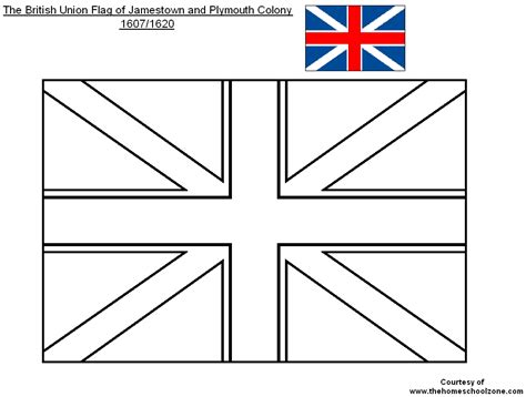 free coloring pages of england flag outline british flag coloring page bebo pandco