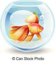 pesce clipart pesce rosso vettore illustrazione dettagliato