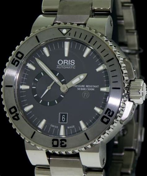 Oris Divers wrist watches   Aquis Titan Small Second, Date