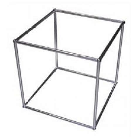 office furniture hire qed display cube alloy frame