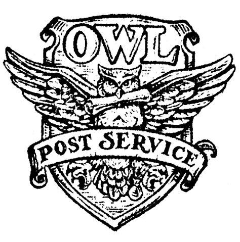 printable owl post storage boxes and pigeon holes acciomagic