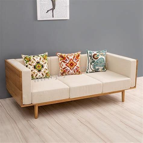 Jual Sofa Murah Di Bandar Lung sofa bangku kayu panjang scandinavian jayafurni mebel