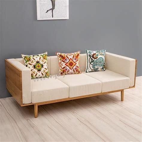 Jual Sofa Kayu Bekas sofa bangku kayu panjang scandinavian jayafurni mebel jepara jayafurni mebel jepara