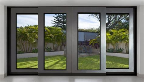 Sliding Patio Doors Non Warping Patented Honeycomb Metal Patio Doors