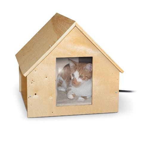feral house feral cat house heated very little energy used keeps them warm in winter infobarrel