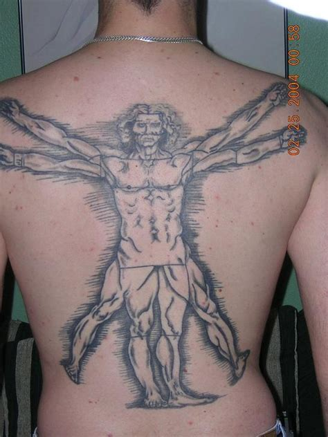 vitruvian man tattoo designs vitruvian
