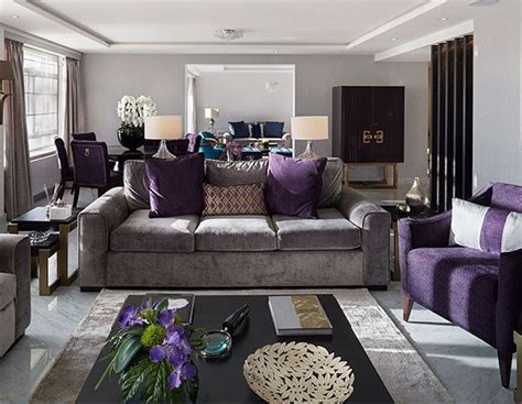 purple and grey living room best 25 purple living rooms ideas on pinterest purple