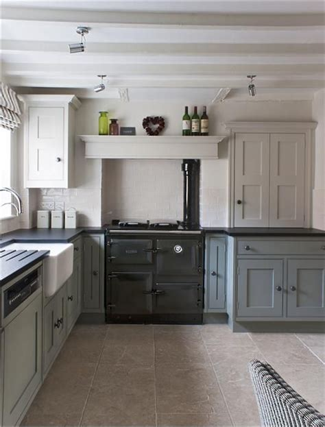 Kitchen Design With Corner Sink by Modern Country Style Farrow And Ball Shaded White With