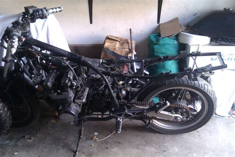 Motorrad Gabel Richtig Einbauen by Kawasaki 187 Gpz 550 Goes Cafe Caferacer Forum De