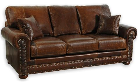 rustic italian leather sofa plushemisphere