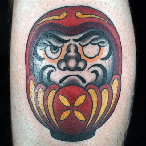 tattoo masters daruma doll by matt o baugh ink master on spike