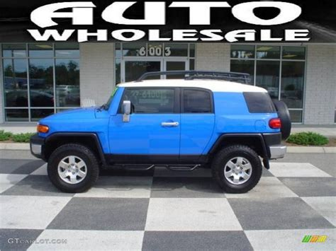 2007 voodoo blue toyota fj cruiser 4wd 14795149 gtcarlot car color galleries