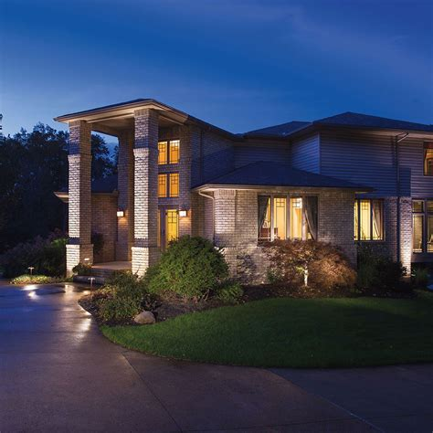 led landscape lighting fixtures led light design captivating kichler led landscape