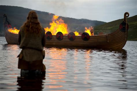 fire boat funeral kind of want a viking funeral in the end los angeles