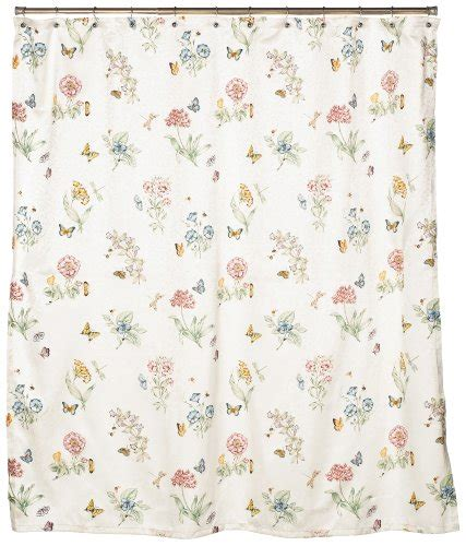 lenox butterfly meadow shower curtain lenox shower curtains shower curtains outlet
