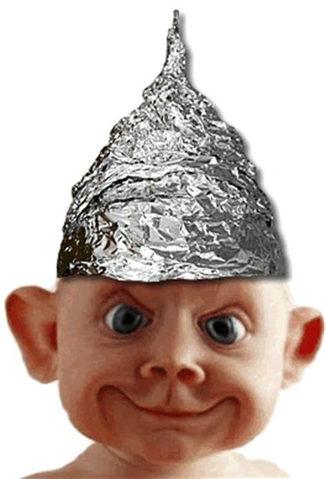 Aluminium Foil Hati the tinfoil hat our salon