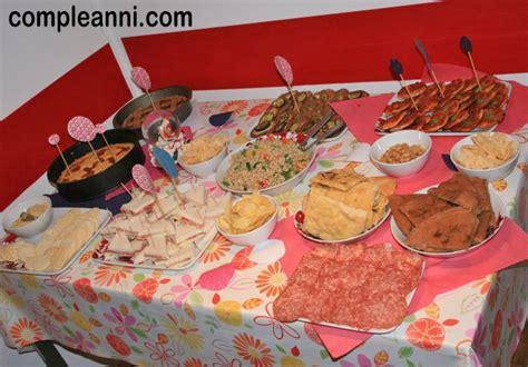 festa di compleanno a casa buffet di compleanno fatto in casa feste e compleanni