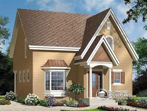 small 2 bedroom cottage house plans economical small w3513 affordable 2 storey scandinavian inspired house