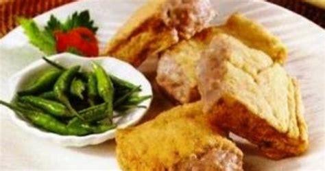 Tahu Isi Bakso Ayam Kukus Kw 1 resep masakan tahu isi bakso