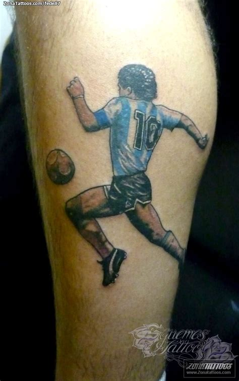 imagenes de tatuajes de futbol tatuaje de f 250 tbol deportes maradona