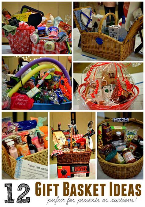 gift basket idea creative silent auction basket ideas www imgkid