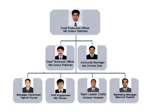 Company organogram