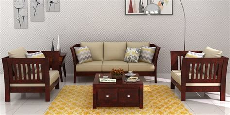 Buy Sofa Sets by Wooden Sofa Sets Buy Solid Wood Sofa Set Upto 60