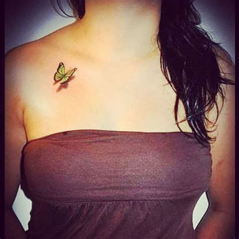 small 3d butterfly tattoos 27 pleasant butterfly shoulder tattoos and designs