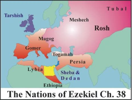 gog rosh russia and magog the land of gog eastern