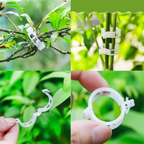pcs tomato clips trellis garden plant flower vegetable