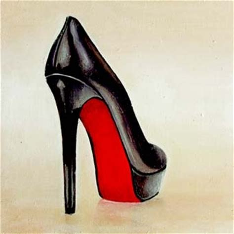high heel shoe paintings shoes still of high heel christian louboutin