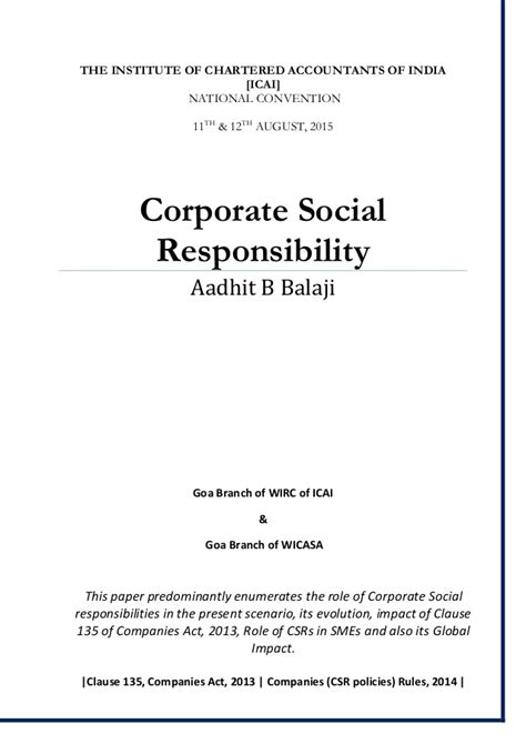 dissertation on corporate social responsibility essay on corporate social responsibility benefits the