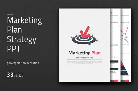 global marketing plan template marketing plan strategy ppt vertical presentation
