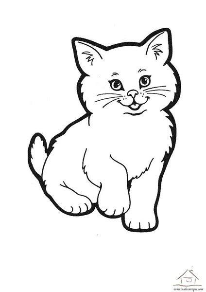 kedi boyama sayfalari evimin altin topu