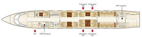 private jet floor plans g650 layouts gallery