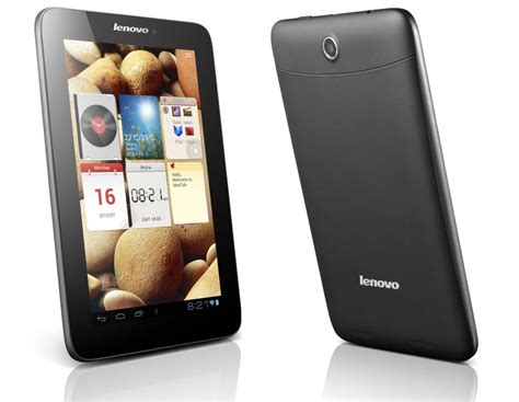 Tablet Lenovo lenovo ideapad a2107 tablet features specification and