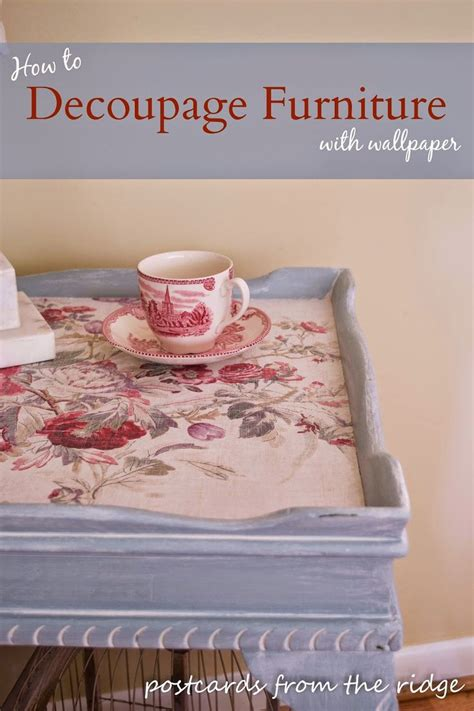 Decoupage Laminate Furniture - 25 unique how to decoupage furniture ideas on